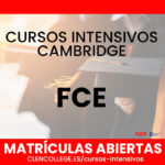 cursos intensivos fce cambridge