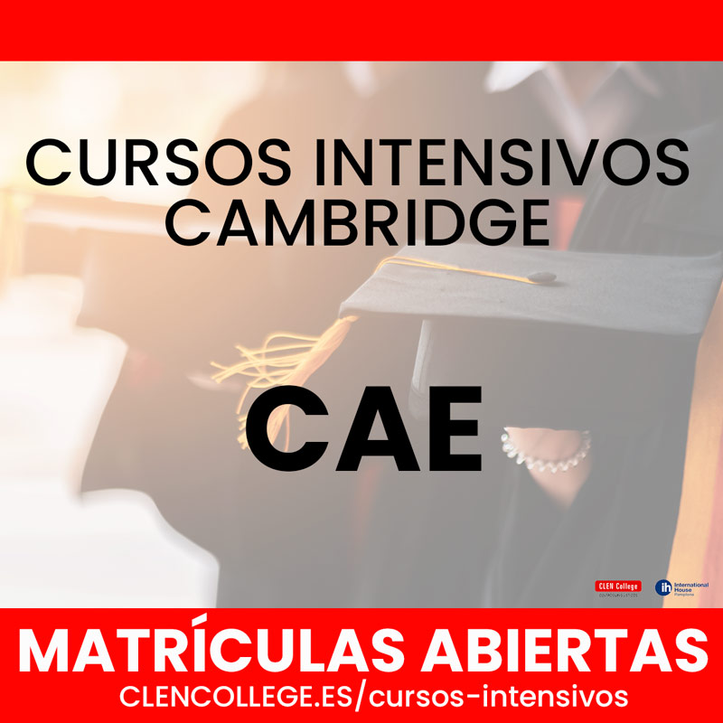 cursos intensivos cae cambridge