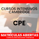 cursos intensivos cpe cambridge