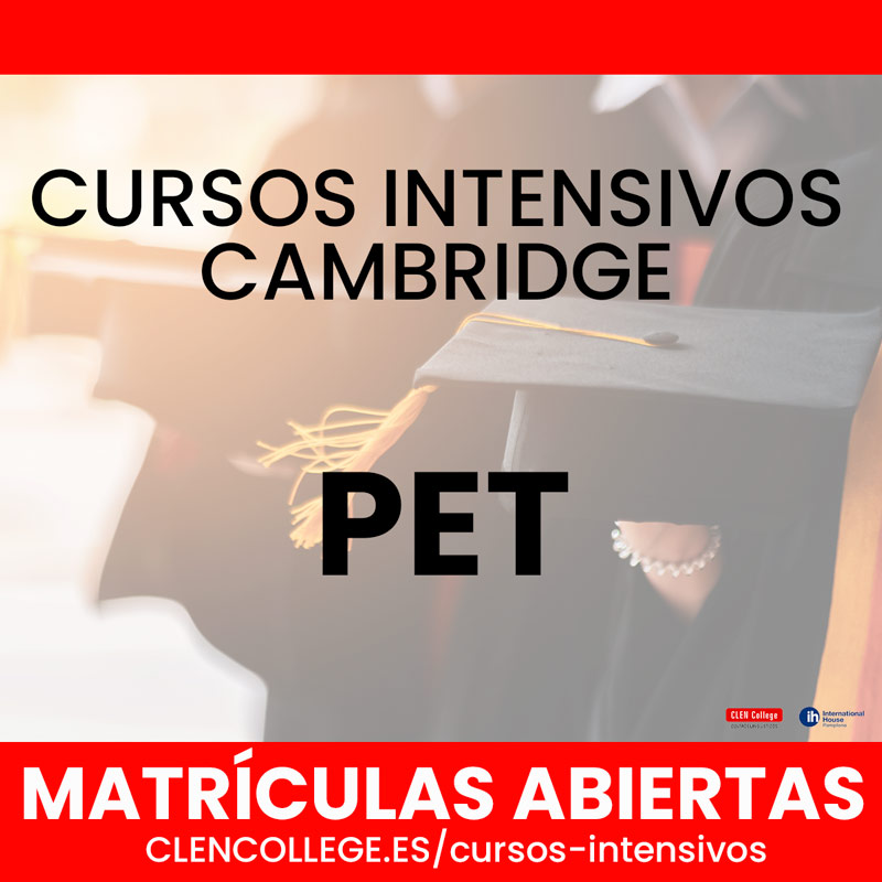 cursos intensivos pet cambridge