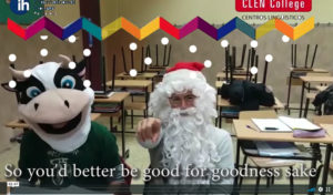 video navideño clen college